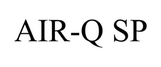 mark for AIR-Q SP, trademark #85676627