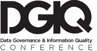 mark for DGIQ DATA GOVERNANCE & INFORMATION QUALITY CONFERENCE, trademark #85676668