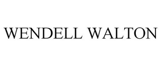 mark for WENDELL WALTON, trademark #85676758