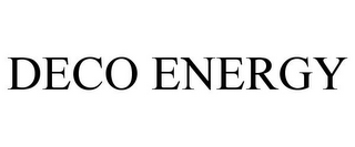 mark for DECO ENERGY, trademark #85676796
