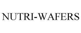 mark for NUTRI-WAFERS, trademark #85676869
