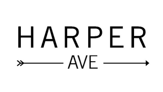 mark for HARPER AVE, trademark #85676938