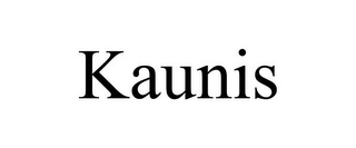 mark for KAUNIS, trademark #85677358