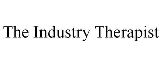 mark for THE INDUSTRY THERAPIST, trademark #85677371