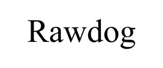 mark for RAWDOG, trademark #85677431