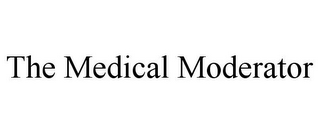 mark for THE MEDICAL MODERATOR, trademark #85677439