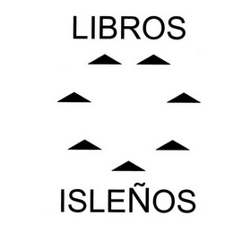 mark for LIBROS ISLEÑOS, trademark #85677441