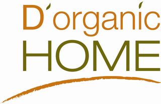 mark for D'ORGANIC HOME, trademark #85677783
