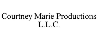 mark for COURTNEY MARIE PRODUCTIONS L.L.C., trademark #85677988