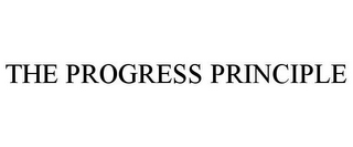 mark for THE PROGRESS PRINCIPLE, trademark #85678012