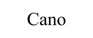 mark for CANO, trademark #85678268