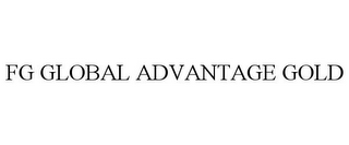 mark for FG GLOBAL ADVANTAGE GOLD, trademark #85678500