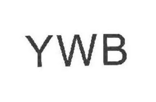 mark for YWB, trademark #85678651