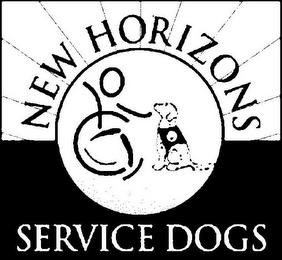 mark for NEW HORIZONS SERVICE DOGS, trademark #85678927
