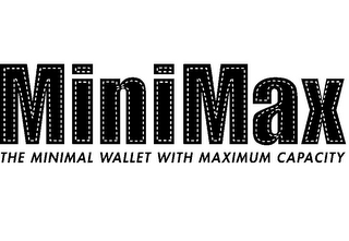 mark for MINIMAX THE MINIMUM WALLET WITH MAXIMUM CAPACITY, trademark #85679007