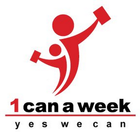 mark for 1 CAN A WEEK YES WE CAN, trademark #85679048