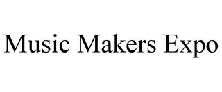mark for MUSIC MAKERS EXPO, trademark #85679358