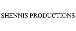 mark for SHENNIS PRODUCTIONS, trademark #85679365