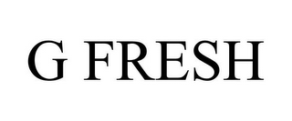 mark for G FRESH, trademark #85679669
