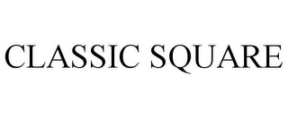 mark for CLASSIC SQUARE, trademark #85679736