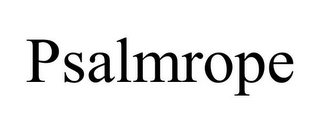 mark for PSALMROPE, trademark #85679782