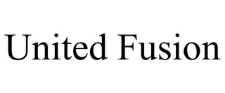 mark for UNITED FUSION, trademark #85680055