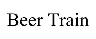 mark for BEER TRAIN, trademark #85680095