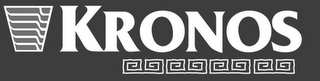mark for KRONOS, trademark #85680109