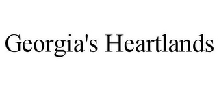 mark for GEORGIA'S HEARTLANDS, trademark #85680114