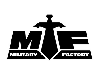 mark for MF MILITARY FACTORY, trademark #85680127