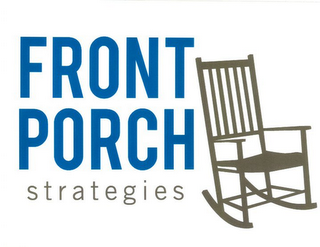 mark for FRONT PORCH STRATEGIES, trademark #85680173