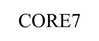 mark for CORE7, trademark #85680507