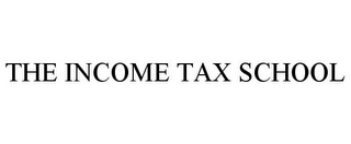 mark for THE INCOME TAX SCHOOL, trademark #85680533