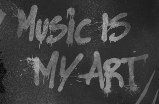mark for MUSIC IS MY ART, trademark #85680655
