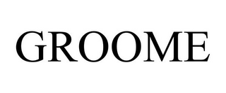 mark for GROOME, trademark #85680661