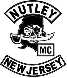 mark for NUTLEY MC NEW JERSEY EST. 2008, trademark #85680690