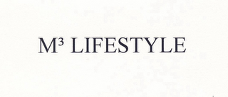 mark for M3 LIFESTYLE, trademark #85680725