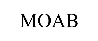 mark for MOAB, trademark #85680732