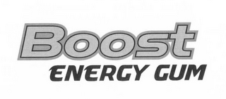 mark for BOOST ENERGY GUM, trademark #85681057