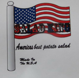 mark for SALAD KING AMERICAS BEST POTATO SALAD MADE IN THE U.S.A, trademark #85681239