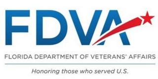 mark for FDVA FLORIDA DEPARTMENT OF VETERANS' AFFAIRS HONORING THOSE WHO SERVED U.S., trademark #85681282