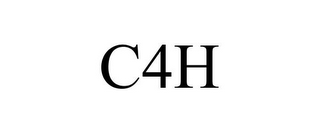 mark for C4H, trademark #85681343