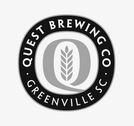 mark for Q QUEST BREWING CO · GREENVILLE SC ·, trademark #85681350