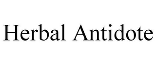 mark for HERBAL ANTIDOTE, trademark #85681476