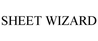 mark for SHEET WIZARD, trademark #85681752