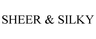 mark for SHEER & SILKY, trademark #85681900