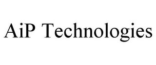 mark for AIP TECHNOLOGIES, trademark #85682162