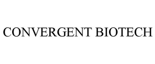 mark for CONVERGENT BIOTECH, trademark #85682221