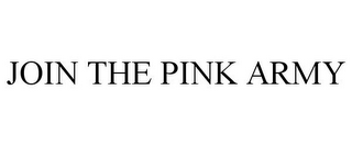 mark for JOIN THE PINK ARMY, trademark #85682620