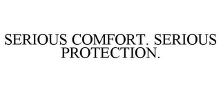 mark for SERIOUS COMFORT. SERIOUS PROTECTION., trademark #85682777